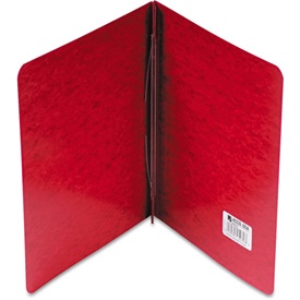 "ACCO Pressboard Report Cover, Prong Clip, Letter, 3"" Capacity, Executive Red by"