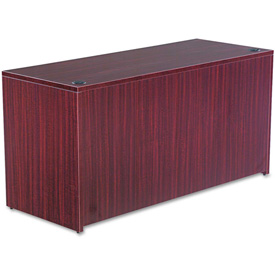 "Alera Credenza Shell for Valencia Series 59-1/8""W x 23-5/8""D x 29-1/2""H Mahogany by"