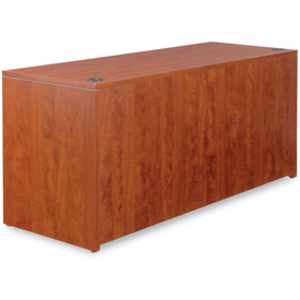 "Alera Credenza Shell for Valencia Series 65""W x 23-3/5""D x 29-1/2""H Medium Cherry by"