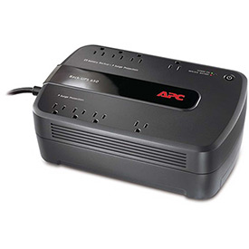 Buy APC BE650G1 Back-UPS ES 650 Battery Backup System, 8 Outlets, 650VA, 340 Joules