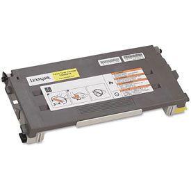 Buy Lexmark C500S2YG Toner, 1500 Page-Yield, Yellow, OEM