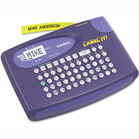 Buy Casio KL-60L Label Maker, 2 Lines, Purple