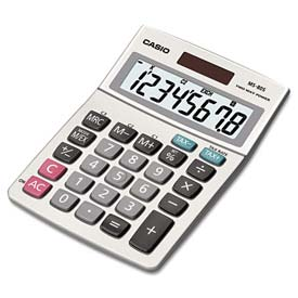 Buy Casio MS-80S Tax and Currency Calculator, 8-Digit LCD