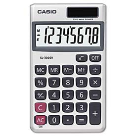 Buy Casio SL-300SV Handheld Calculator, 8-Digit LCD