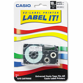 Buy Casio Tape Cassette for KL Label Makers, 3/4in x 26ft, Black on White
