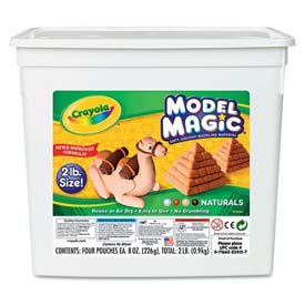 Crayola 232412 Model Magic Modeling Compound, Natural, 2 lbs.
