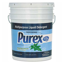 Purex Concentrate Liquid Laundry Detergent, Mountain Breeze, 5 Gallon Pail DIA 06354 by
