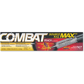 Combat Source Kill Max Roach Killing Gel, 2.1oz Syringe 12/Case DIA51960 by