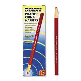 Dixon 79 China Marker, Red, Dozen