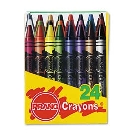 Prang 400 Crayons Made with Soy, 24 Colors/Box