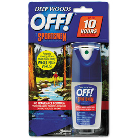 OFF! Deep Woods Sportsmen Insect Repellent, 1oz Spray Bottle 12/Case DVO94904 by