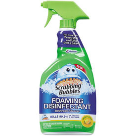 Cleaning Supplies Bathroom Cleaners Scrubbing Bubbles Foaming Disinfectant Bathroom Cleaner