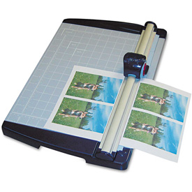 "X-ACTO Rotary Trimmer, 10 Sheets, Metal Base, 11""X15"" by"
