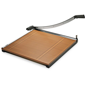 "X-ACTO Wood Base Guillotine Trimmer, 20 Sheets, Wood Base, 24""X24"" by"