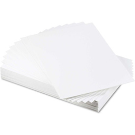 """Elmer's CFC-Free Polystyrene Foam Board, 30"""" x 20"""", White Surface and Core, 25/Carton by"""