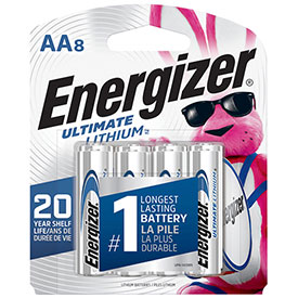 Energizer e² AA Ultimate Lithium Batteries (8 Pack)