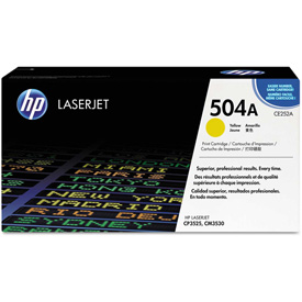 Buy HP 504A Yellow Original LaserJet Toner Cartridge