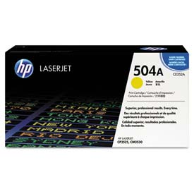 Buy HP CE252AG (HP 504A) Government Toner Cartridge, 7000 Page-Yield, Yellow Cartridge