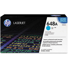 Buy HP 648A Cyan Original LaserJet Toner Cartridge