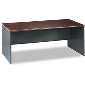 "HON® 72 Inch Desk Shell - 72"" x 36"" - Mahogany - 38000 Series"