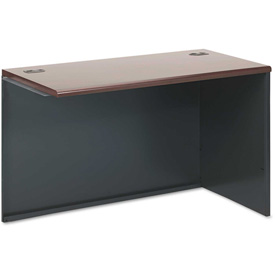 "HON® Right Return Shell - 48"" x 24"" - Mahogany - 38000 Series"