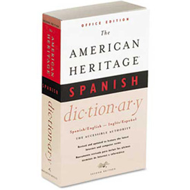 Buy Houghton Mifflin American Heritage Office Spanish Dictionary, Paperback, 640 Pages
