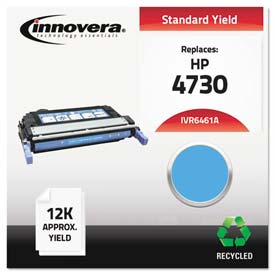 Buy Innovera 6461A Compatible, Remanufactured, Q6461A (644A) Laser Toner, 12000 Yield, Cyan