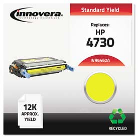 Buy Innovera 6462A Compatible, Remanufactured, Q6462A (644A) Laser Toner, 12000 Yield, Yellow