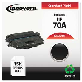 Buy Innovera 7570A Compatible, Remanufactured, Q7570A (70A) Laser Toner, 15000 Yield, Black