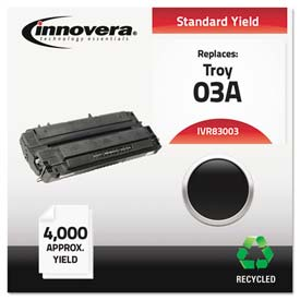 Buy Innovera 83003 Compatible, Remanufactured, C3903A (03A) Laser Toner, 4000 Yield, Black