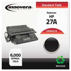 Buy Innovera 83027A Compatible, Remanufactured, C4127A (27A) Laser Toner, 6000 Yield, Black