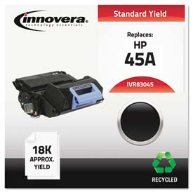 Buy Innovera 83045 Compatible, Remanufactured, Q5945A (45A) Laser Toner, 18000 Yield, Black