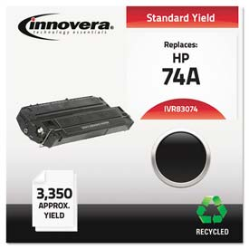 Buy Innovera 83074 Compatible, Remanufactured, 92274A (74A) Laser Toner, 3350 Yield, Black
