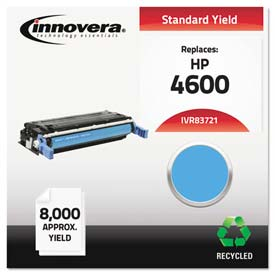 Buy Innovera 83721 Compatible, Remanufactured, C9721A (641A) Laser Toner, 8000 Yield, Cyan