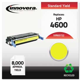 Buy Innovera 83722 Compatible, Remanufactured, C9722A (641A) Laser Toner, 8000 Yield, Yellow