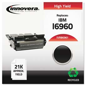 Buy Innovera 86961 Compatible, Remanufactured, 75P6961 Laser Toner, 21000 Page-Yield, Black