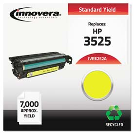Buy Innovera E252A Compatible, Remanufactured, CE252A (504A) Laser Toner, 7000 Yield, Yellow