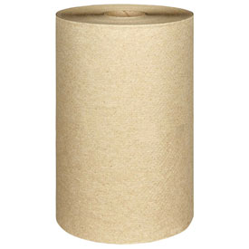 Nonperforated Paper Towel Rolls, 8 x 400', Natural, 12/Carton - KIM02021