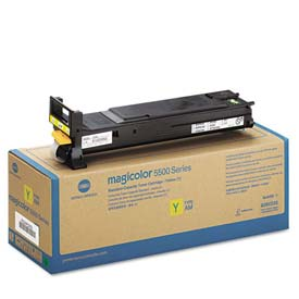 Buy Konica Minolta A06V233 High-Yield Toner, 12000 Page-Yield, Yellow