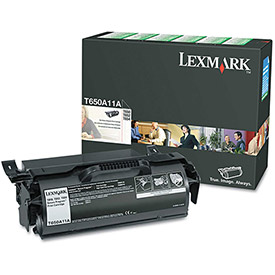 Buy Lexmark T650A11A Toner, 7000 Page-Yield, Black