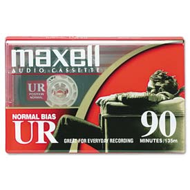 Buy Maxell 108510 Dictation & Audio Cassette, Normal Bias, 90 Minutes (45 x 2)