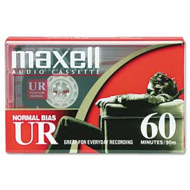 Click here to buy Maxell 109010 Dictation & Audio Cassette, Normal Bias, 60 Minutes (30 x 2).