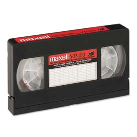 Click here to buy Maxell 290058 Cleaning VHS Tape Cartridge.