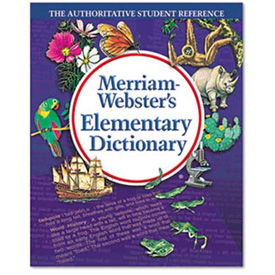 Buy Merriam Webster Elementary Dictionary, Grades 2-4, Hardcover, 624 Pages