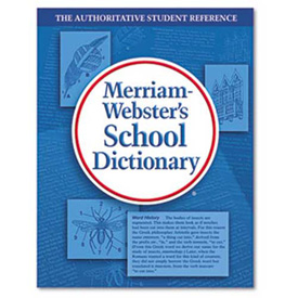 Buy Merriam Webster School Dictionary, Grades 9-11, Hardcover, 1,280 Pages