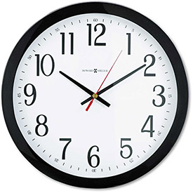 "Buy Howard Miller Gallery Wall Clock, 16"", Black"