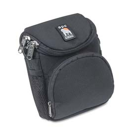 Ape Case AC220 Camcorder/Digital Camera Case, Nylon, 5 x 3-1/2 x 6-5/8, Black