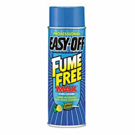 Professional EASY-OFF Fume Free Max Oven Cleaner,Lemon,Foam,24oz Aerosol Can RAC74017 by