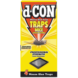 d-CON® Mouse Glue Trap, Plastic 1 Trap/Box 48/Case - RAC78642