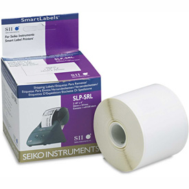 Click here to buy Seiko Self-Adhesive Shipping Labels, 2-1/8 x 4, White, 220/Box.